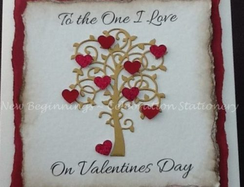Valentine's Giveaway from New Beginnings – Celebration Stationery..