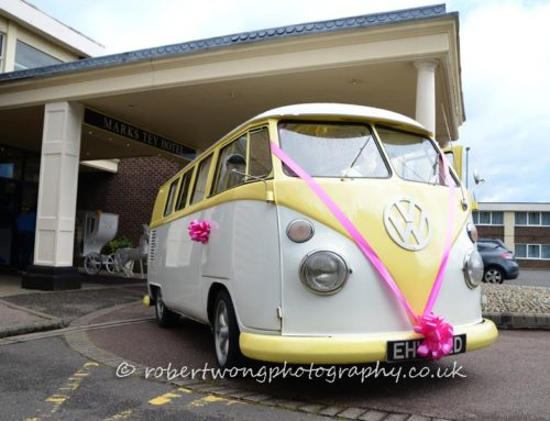 Travel in A Classic VW on Your Big Day…