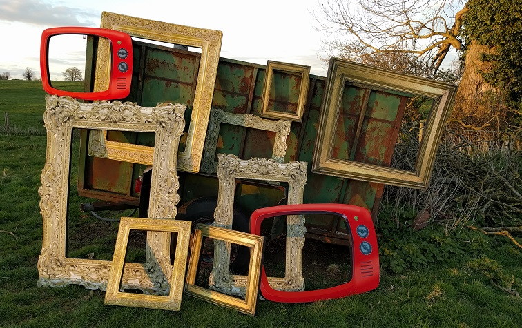 all the frames outside on a bowser