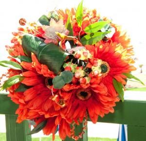 Stem Ginger Faux Flowers