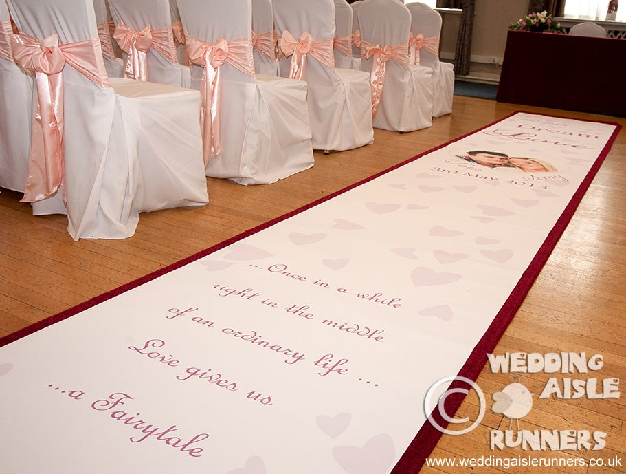 Wedding Carpet Runners Ideas