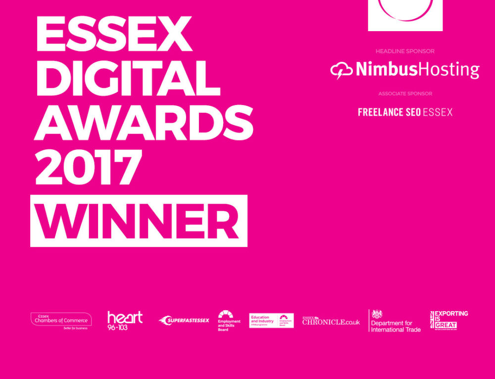 A Win at The Essex Digital Awards 2017