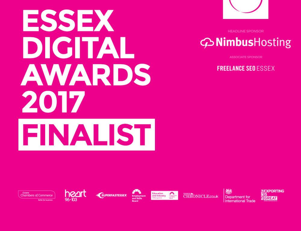 Essex Digital Awards Finalist – Me.!!