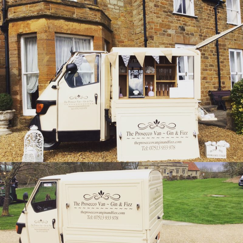 The Prosecco Van Gin and Fizz