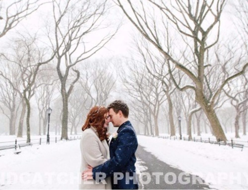 Winter Weddings in Central Park