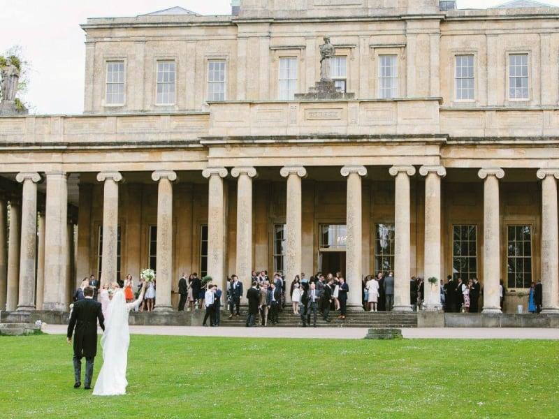 Cheltenham Wedding Fair Outside