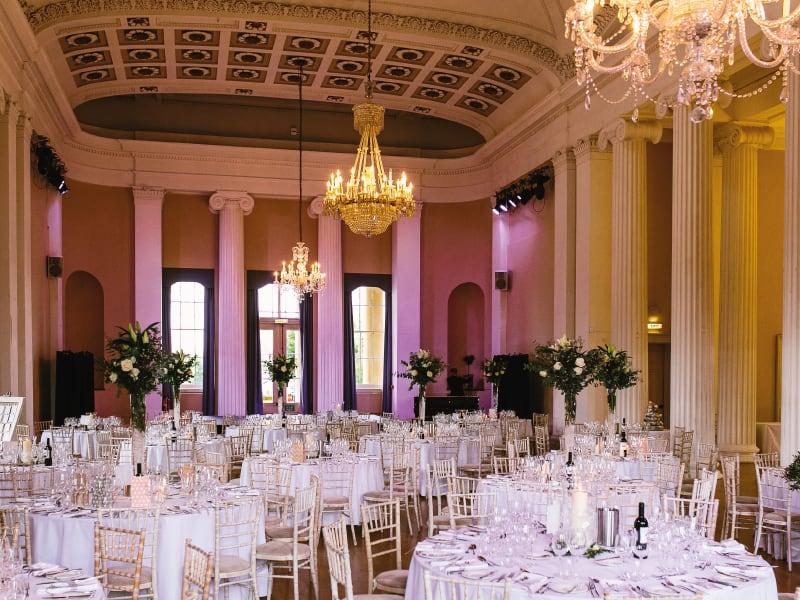 Cheltenham Wedding Fair Inside