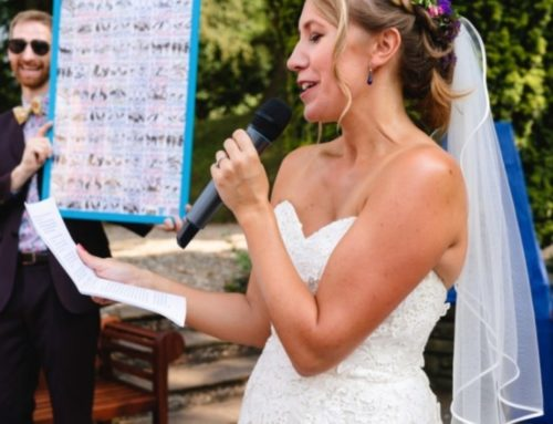 BRIDES: Get More Compliments on Your Speech Than Your Dress